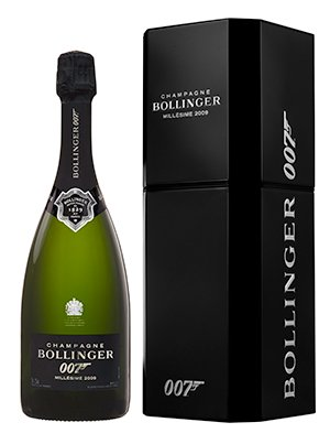 Bollinger Spectre Limited Edition Bottle + gift-box